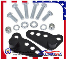 "Rear Adjustable Lowering Kit 1-3"" For Harley Touring Street Road King 2002-2015"