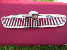 MGB Grille Assembly, Brand New, Chrome Plated Brass