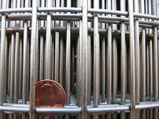 """30"""" Wide 1"""" X 2"""" Heavy Stainless Welded Wire Mesh hardware cloth sold per foot"""