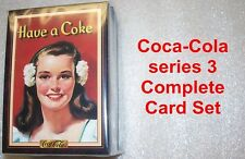COCA-COLA series 3 Complete Trading Card Set -   COKE collectible