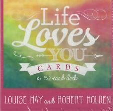 Life Loves You Cards by Louise Hay & Robert Holden NEW & Sealed