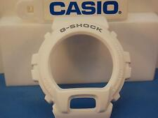 Casio Watch Parts DW-6900 MR-7 Bezel / Shell G-Shock White w/Gray Letters. Parts