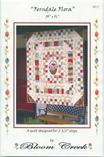 Ferndale Flora ~ Quilt Quilting Pattern ~ by Bloom Creek