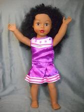 "Rare Madame Alexander 18"" Doll Black African American Black Curly Hair Latina"