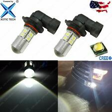 For Ford F150 2002-2016 Max 60W High Power H10 9145 LED Fog Lights Bulbs 6000K
