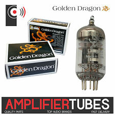 1x GOLDEN DRAGON PREAMP E81CC / 12AT7 / ECC81 HI GRADE tubes valvole che dell' audio