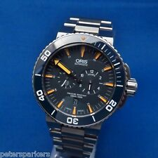 ORIS DIVING AQUIS REGULATEUR TUBBATAHA TITANIUM AUTOMATIC WRISTWATCH Ltd EDITION