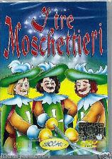 I Tre Moschettieri (2003) DVD NUOVO SIGILLATO Cartoni Animati Animazione