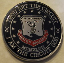 TECH CONTROL - Snoopy - Water Walkers Air Force Challenge Coin / BL