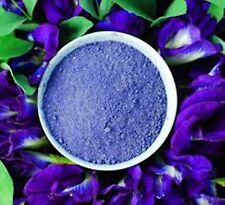 ORGANIC THAI BUTTERFLY PEA FLOWERS Powder, Loose TEA, COLOURING FOOD 10g