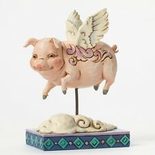 Heartwood Creek When Pigs Fly Figurine NEW in Gift Box by Jim Shore  24250