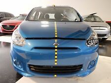2014 Mitsubishi Mirage DE 1.2L AT Front End Assembly Clip Nose '31' Actual Miles