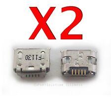 2X ZTE Lever LTE Z936L USB Charger Charging Ports Dock Connector USB Socket USA