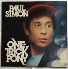 Paul Simon - One Trick Pony - Warner Brothers Vinyl LP WB 56 846 VG+/VG+