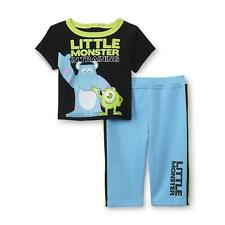 Disney Baby Monsters Inc.Boy's Graphic T-Shirt & Pants Outfit Size 0-3 M NWT