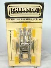 New NOS Vintage CHAMPION 1/24 Slot Car Chassis 200 ADJUSTABLE SIDEWINDER FRAME