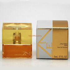 Mini Perfume SHISEIDO ZEN Eau de Parfum 5 Ml 0.17 Oz Miniature New in Box