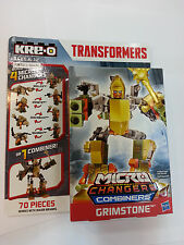 Hasbro KRE-O Transformers Age of Extinction Micro-Changers Combiners Grimstone