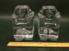 Kosta Boda Crystal Art Glass Sculptures Paperweights Figures by Eric Hoglund
