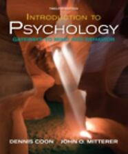 Available Titles CengageNOW Ser.: Introduction to Psychology : Gateways to...