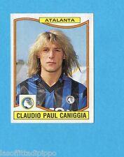 PANINI CALCIATORI 1990/91-Figurina n.14- CANIGGIA - ATALANTA -Recuperata