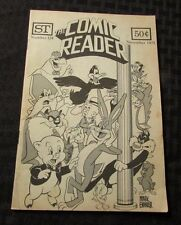 1975 THE COMIC READER Fanzine #124 FN Looney Tunes Bugs Bunny ST