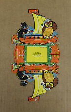 Vintage Halloween Paper Cardboard Candy Container Pirate Ship Cat Shp Owl