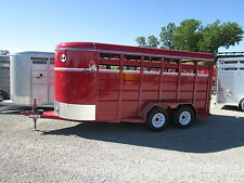 NEW CORN PRO 16' ALL STOCK / HORSE TRAILER *ON SALE NOW* BEST DEALS @ DR TRAILER