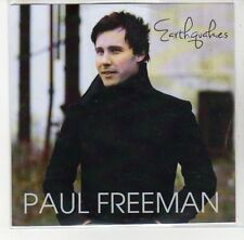 (DL884) Paul Freeman, Earthquakes - DJ CD