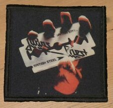 "JUDAS PRIEST ""BRITISH STEEL"" silk screen PATCH"