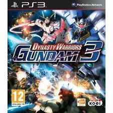 PLAYSTSTION 3 ps3 gioco DYNASTY WARRIORS: Gundam 3 III NUOVO
