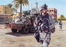 """Always Ready"" Don Stivers Signed Print - Operation Iraqi Freedom"