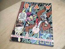 1987 READ YOURSELF RAW Comics - Mouly Spiegelman MAUS- MARISCAL- PANTER vintage