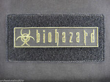 ill Gear BIOHAZARD OD Green  Patch ZOMBIE HUNTER 1X5 symbol sign warning