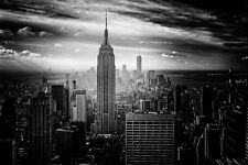 NEW YORK CITY SKYLINE LANDSCAPE POSTER STYLE K 24x36 HI RES