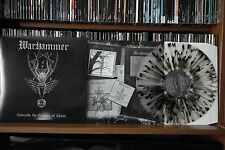 """WARHAMMER""""TOWARDS THE CHAPTER OF CHAOS""""very rare splatter LP"""