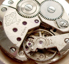 NACAR 680 Vintage Swiss Wrist watch movement   RUNS Part