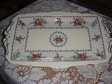 Royal Albert Petit Point oblongo bandeja de placa de plato sándwich de china inglés Raro 1st