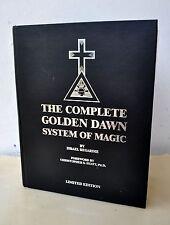 Complete Golden Dawn Israel Regardie Signed C Hyatt Ltd Ed Aleister Crowley Rare