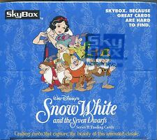 Snow White And The Seven Dwarfs Factory Sealed Hobby Box 36 Packs