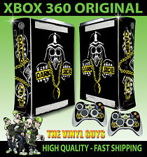 XBOX 360 ORIGINAL DARK SIDE DARTH VADER STAR WARS STICKER SKIN & 2 PAD SKINS