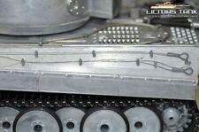 Metall Zubehör Tiger 1 Heng Long 1:16 Seile Spar Set  mit Seilhalterungssystem