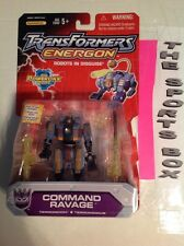 2004 Transformers Energon COMMAND RAVAGE Figure R.I.D.