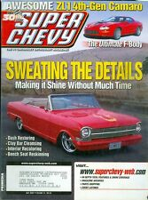 2002 Super Chevy Magazine: Sweating the Details/Dash Restoring/Bench Seat