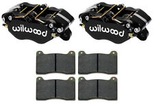 """NEW WILWOOD DYNAPRO BRAKE CALIPERS & PADS,FOR 1"""" ROTORS,1.75"""" PISTONS"""