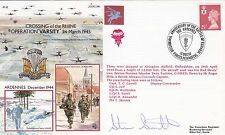 Rare JS(AC96dD Operation Plunder Special Signed Member of Red Devil  Parachutist