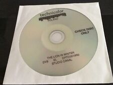 Lion In Winter Digitally Restored DVD Peter O'Toole Katharine Hepburn check disc