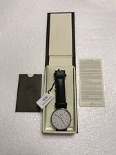 NEW! Daniel Wellington 0206DW Classic Sheffield Black Leather 40mm Mens Watch