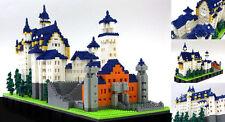 Kawada NB-009 nanoblock Neuschwanstein Castle Deluxe