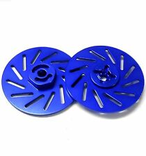 26227,6 kg 1/10 RC M12 12mm Lega Cerchi Adattatori Con Freno A Disco Blu 38mm x